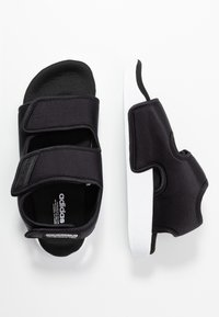 adidas Originals - ADILETTE 3.0 - Sandalias - core black/footwear white - 1