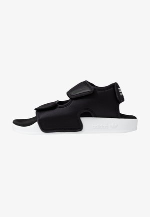 ADILETTE 3.0 - Sandały - core black/footwear white