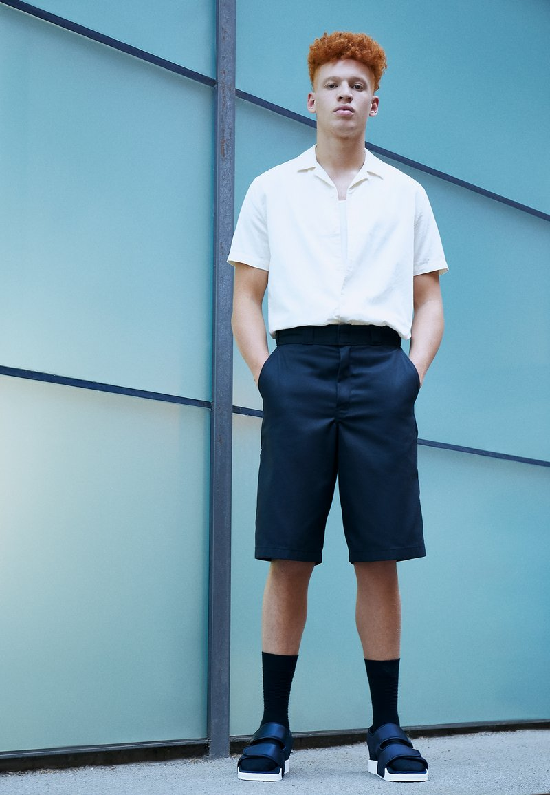 adidas Originals - ADILETTE 3.0 - Sandaler - core black/footwear white