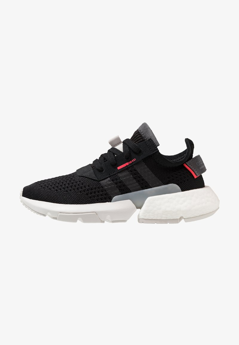 adidas Originals - POD-S3.1 PK - Sneaker low - clear black/shock red
