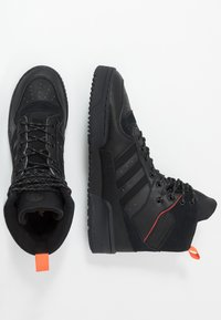 adidas Originals - RIVALRY TR BOOTS BASKETBALL-STYLE SHOES - Sneakersy wysokie - core black - 1