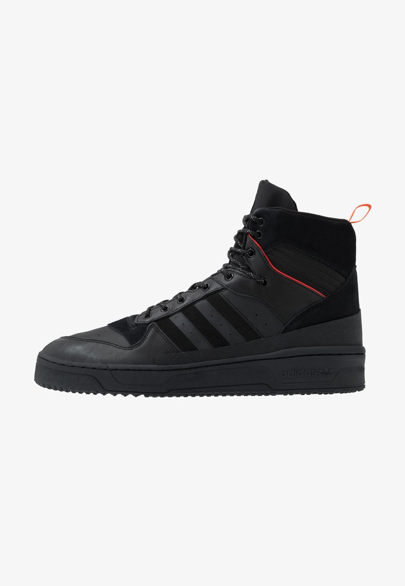 adidas Originals - RIVALRY TR BOOTS BASKETBALL-STYLE SHOES - Sneakersy wysokie - core black