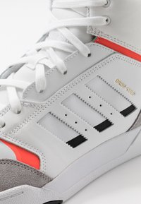 adidas Originals - DROP STEP - Sneakersy wysokie - footwear white/granit/solar red - 5