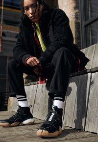 adidas Originals - PHARRELL WILLIAMS CRAZY BYW  PRD - Vysoké tenisky - core black - 8
