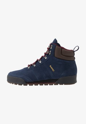 JAKE BOOT 2.0 - Schnürstiefelette - collegiate navy/maroon/brown
