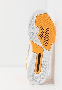 adidas Originals - DROP STEP - Vysoké tenisky - footwear white/gold/silver metallic - 4