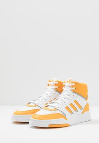 adidas Originals - DROP STEP - Vysoké tenisky - footwear white/gold/silver metallic - 2