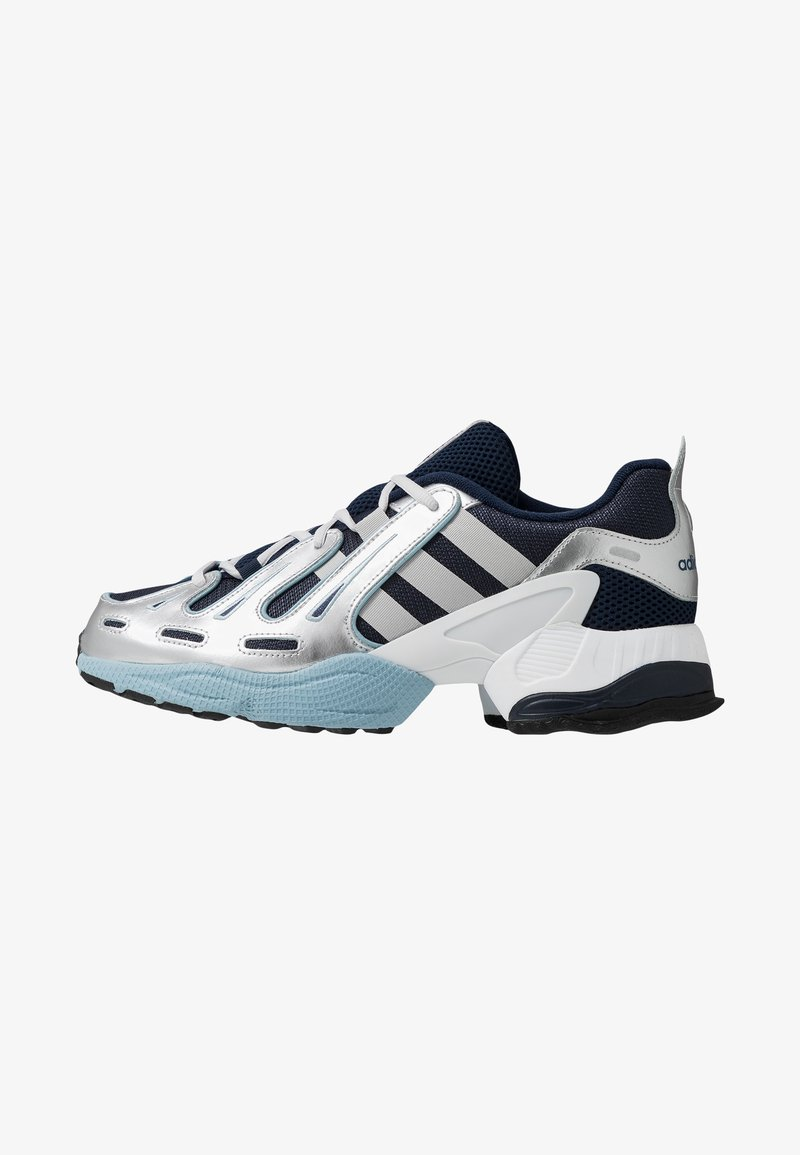 adidas Originals - EQT GAZELLE - Sneakers laag - collegiate navy/grey two/ash grey
