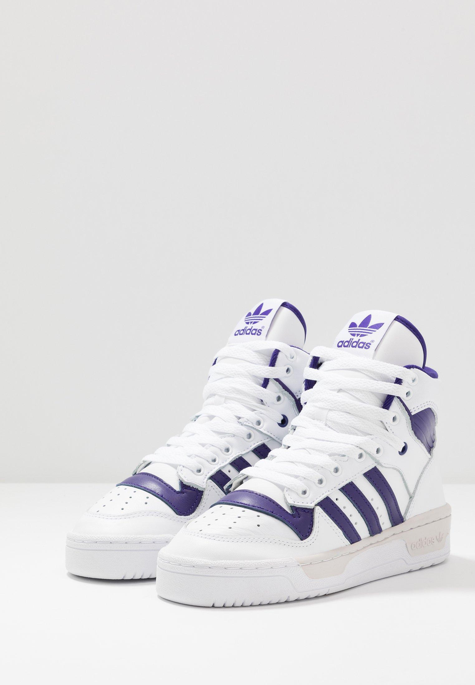 RIVALRYBaskets montantes purple grey one footwear clear adidas Originals white PuXOkZi
