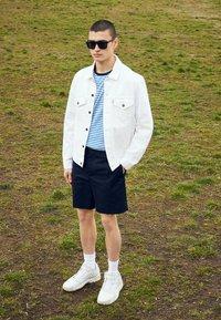 adidas Originals - STREETBALL - Matalavartiset tennarit - footwear white/crystal white/alumina - 6