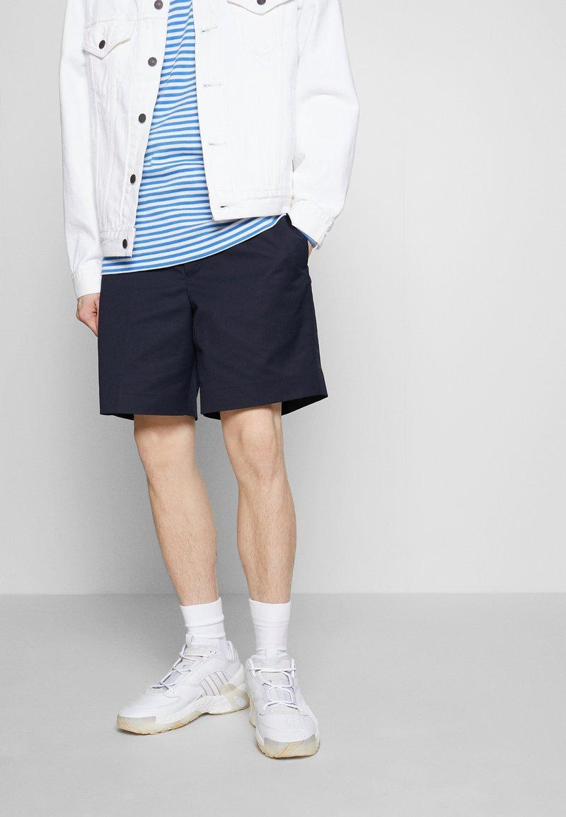 adidas Originals - STREETBALL - Matalavartiset tennarit - footwear white/crystal white/alumina
