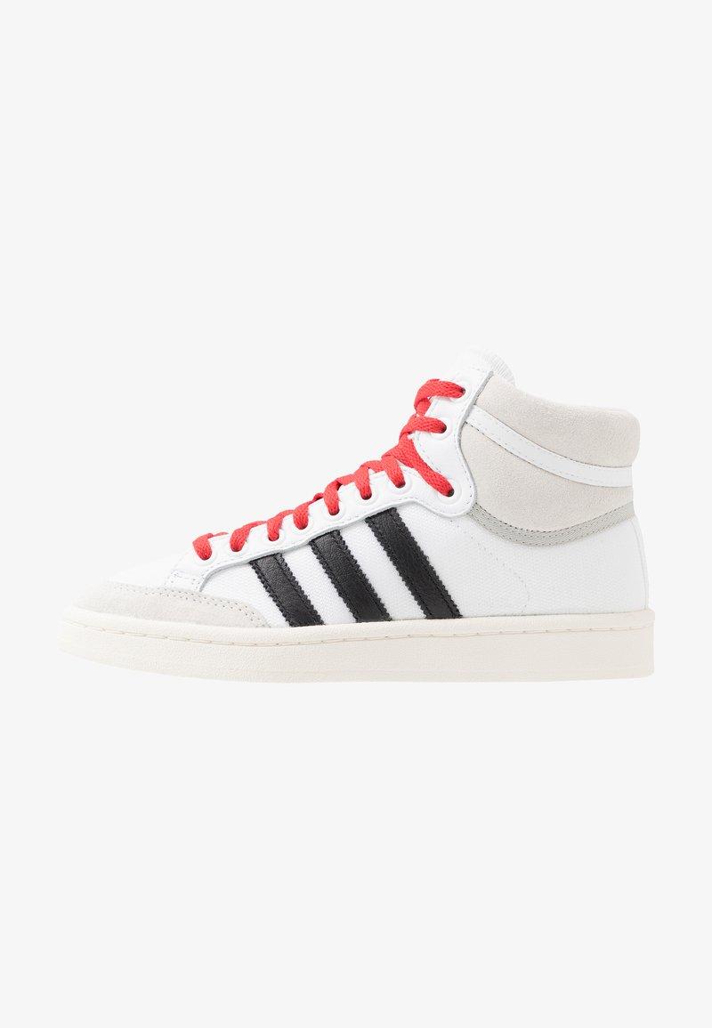 adidas Originals - AMERICANA - High-top trainers - footwear white/core black/glow red