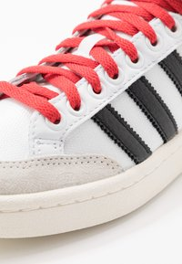adidas Originals - AMERICANA - High-top trainers - footwear white/core black/glow red - 6
