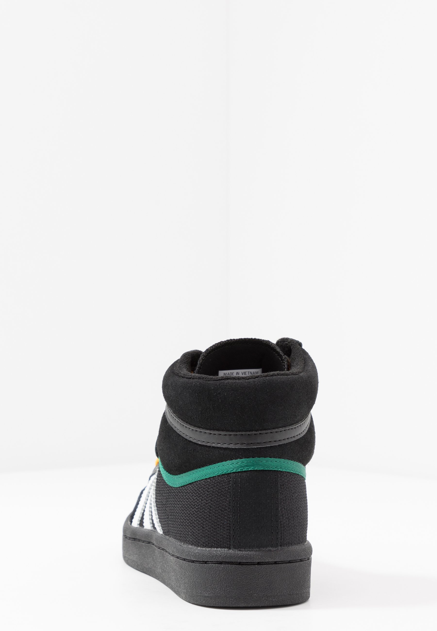 Adidas Originals Americana - Höga Sneakers Core Black/collegiate Green/active Gold