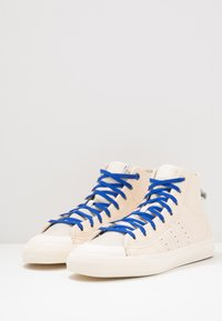 adidas Originals - PHARRELL WILLIAMS  NIZZA HI RF - Sneakers hoog - ecru tint/cream white/clear brown - 2
