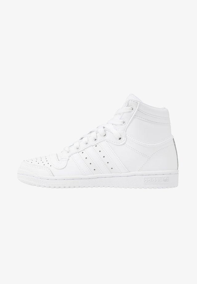 TOP TEN - Baskets montantes - footwear white