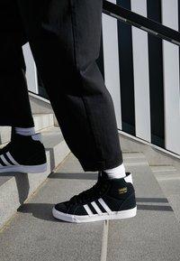 adidas Originals - BASKET PROFI - High-top trainers - core black/footwear white/gold metallic - 7