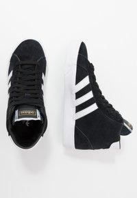 adidas Originals - BASKET PROFI - High-top trainers - core black/footwear white/gold metallic - 2