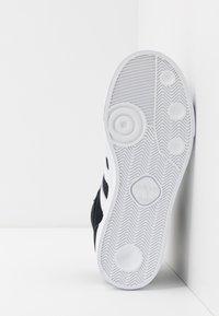 adidas Originals - BASKET PROFI - High-top trainers - core black/footwear white/gold metallic - 5
