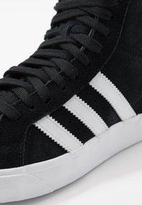 adidas Originals - BASKET PROFI - High-top trainers - core black/footwear white/gold metallic - 8