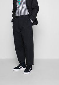 adidas Originals - BASKET PROFI - High-top trainers - core black/footwear white/gold metallic - 0