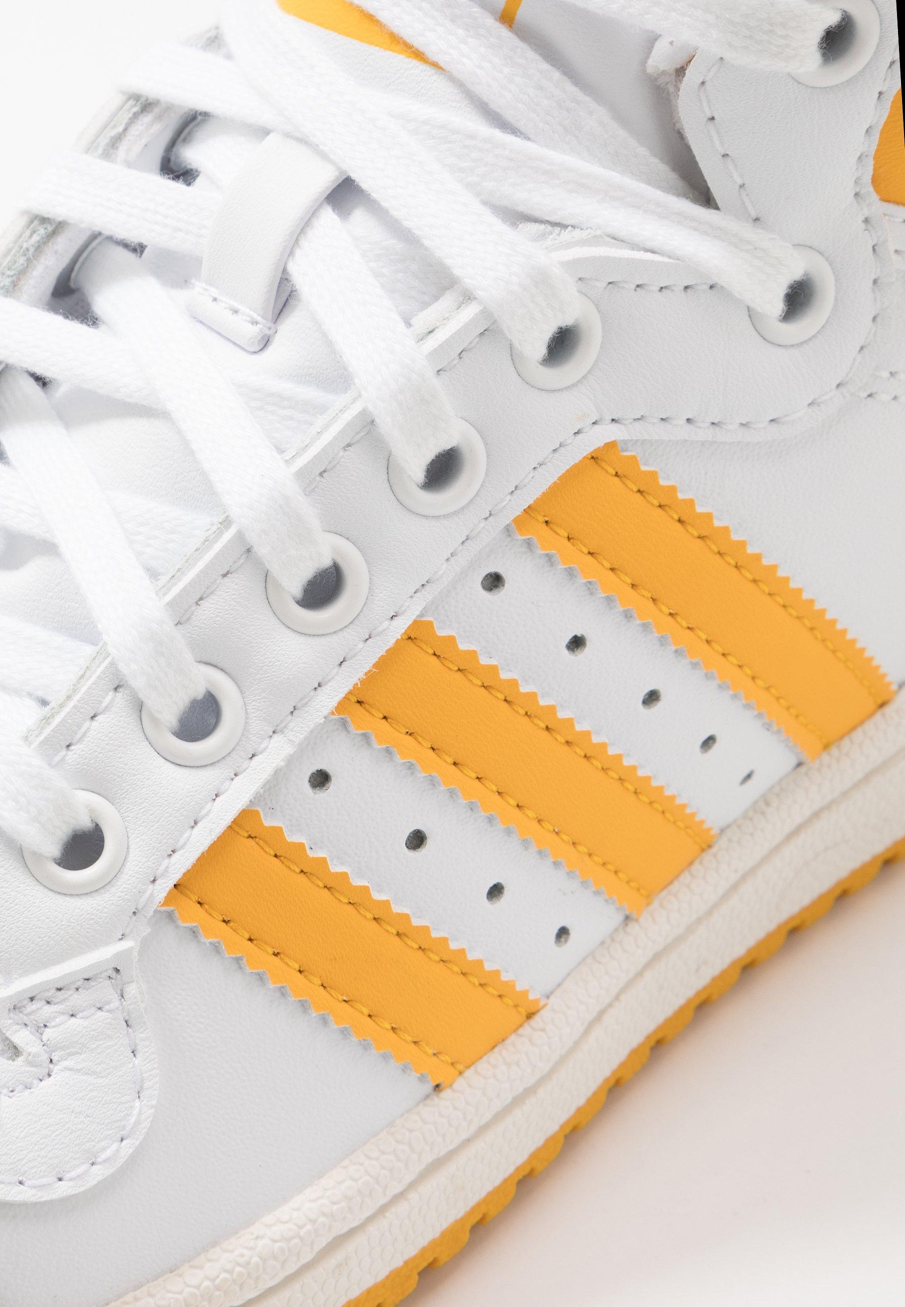 adidas Originals TOP TEN - Sneakers high - footwear white/super color/chalk white