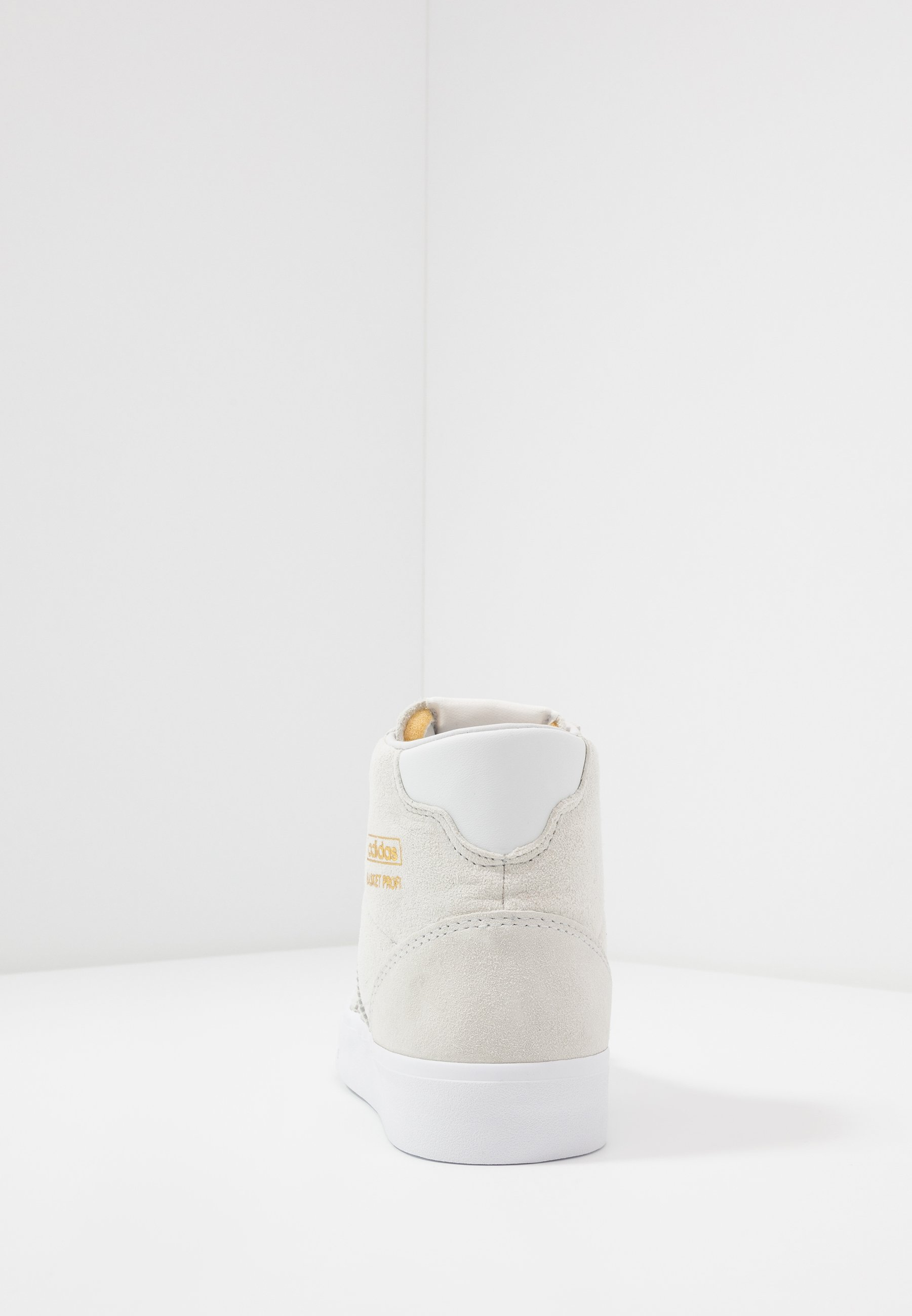 adidas Originals BASKET PROFI - Sneakers alte - crystal white/gold metallic PHM4ycDj