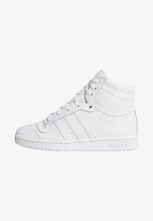 TOP TEN HI SHOES - Höga sneakers - white
