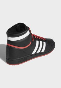 adidas Originals - TOP TEN HI SHOES - Skateschoenen - black - 4