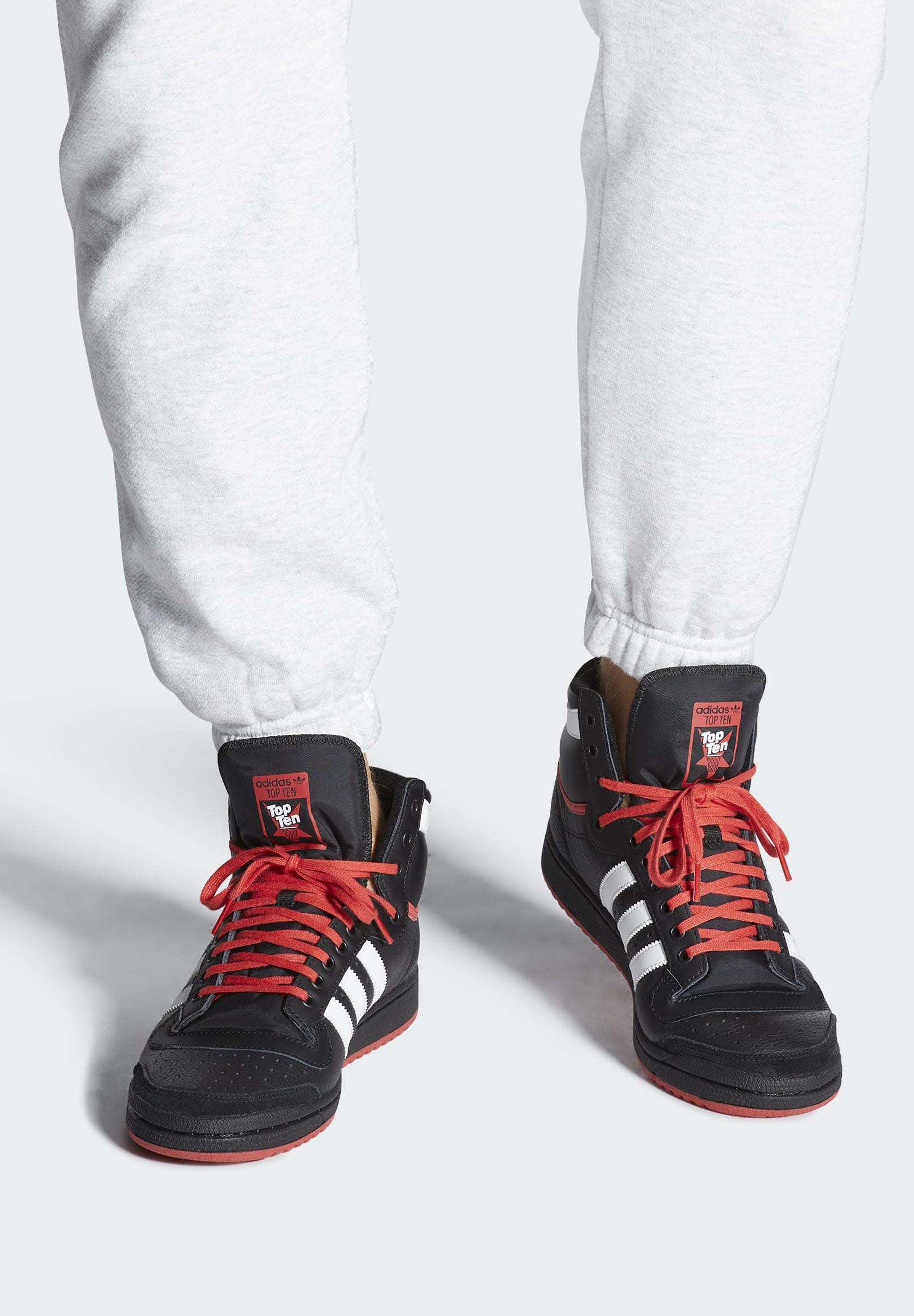 adidas originals TOP TEN HI neo whiteNEW NAVYcollegiate