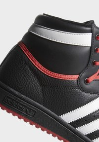 adidas Originals - TOP TEN HI SHOES - Skateschoenen - black