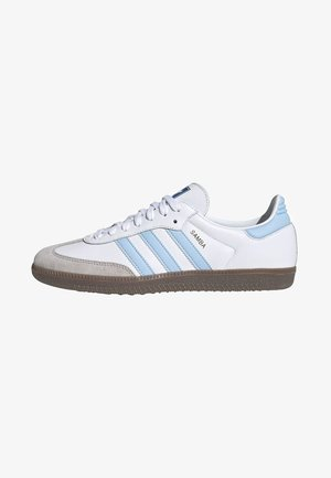 SAMBA OG SHOES - Matalavartiset tennarit - white