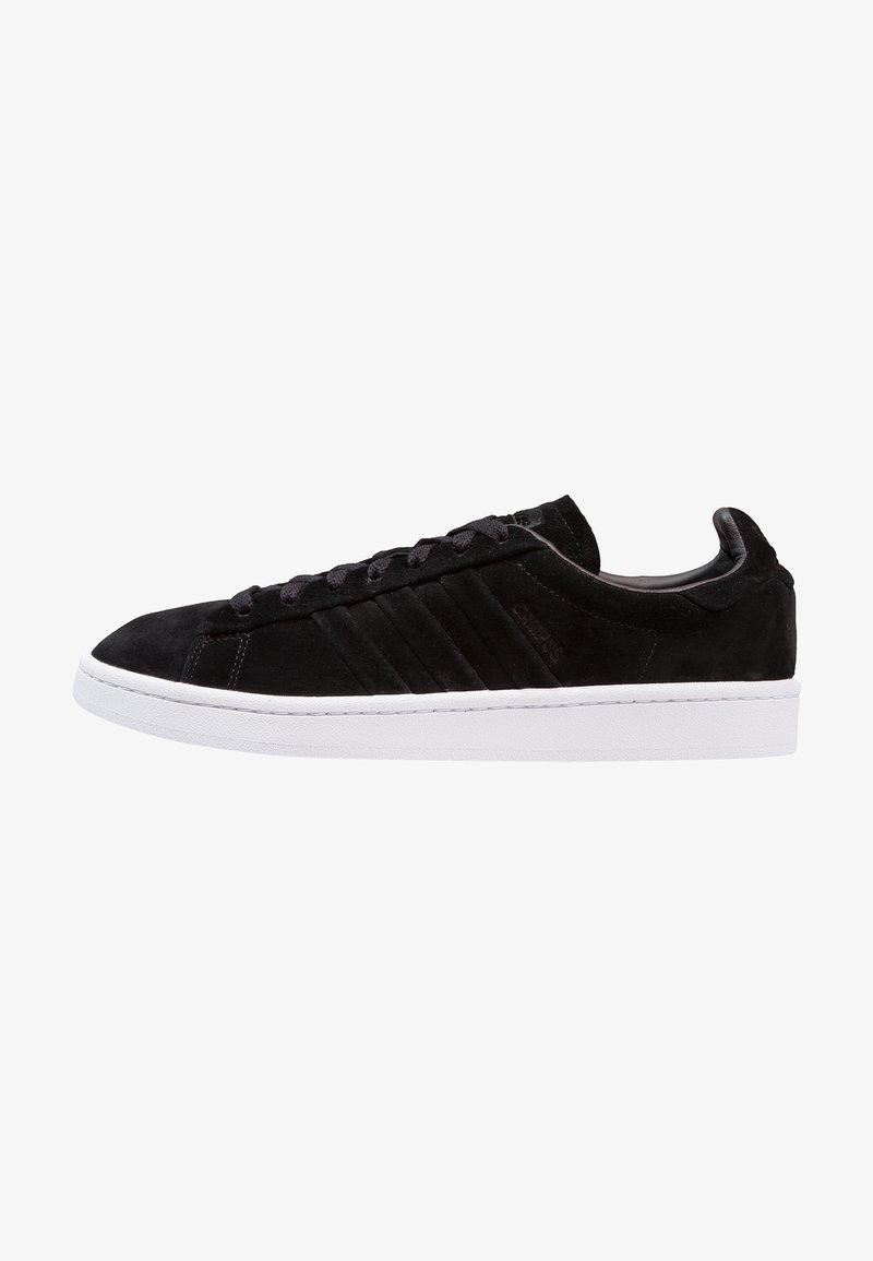 adidas Originals - CAMPUS STITCH AND TURN - Trainers - core black/footwear white