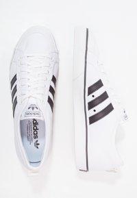 adidas Originals - NIZZA - Zapatillas - footwear white/core black - 1