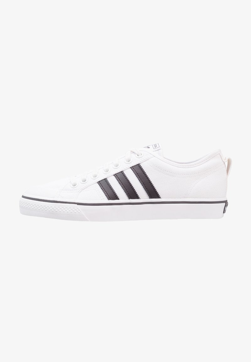 adidas Originals - NIZZA - Trainers - footwear white/core black