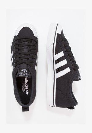NIZZA - Sneakersy niskie - cblack/ftwwht/ftwwht