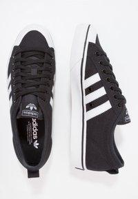 adidas Originals - NIZZA - Sneaker low - core black/footwear white - 1