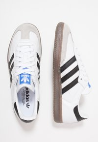 adidas Originals - SAMBA - Tenisky - footwear white/core black/granit - 1