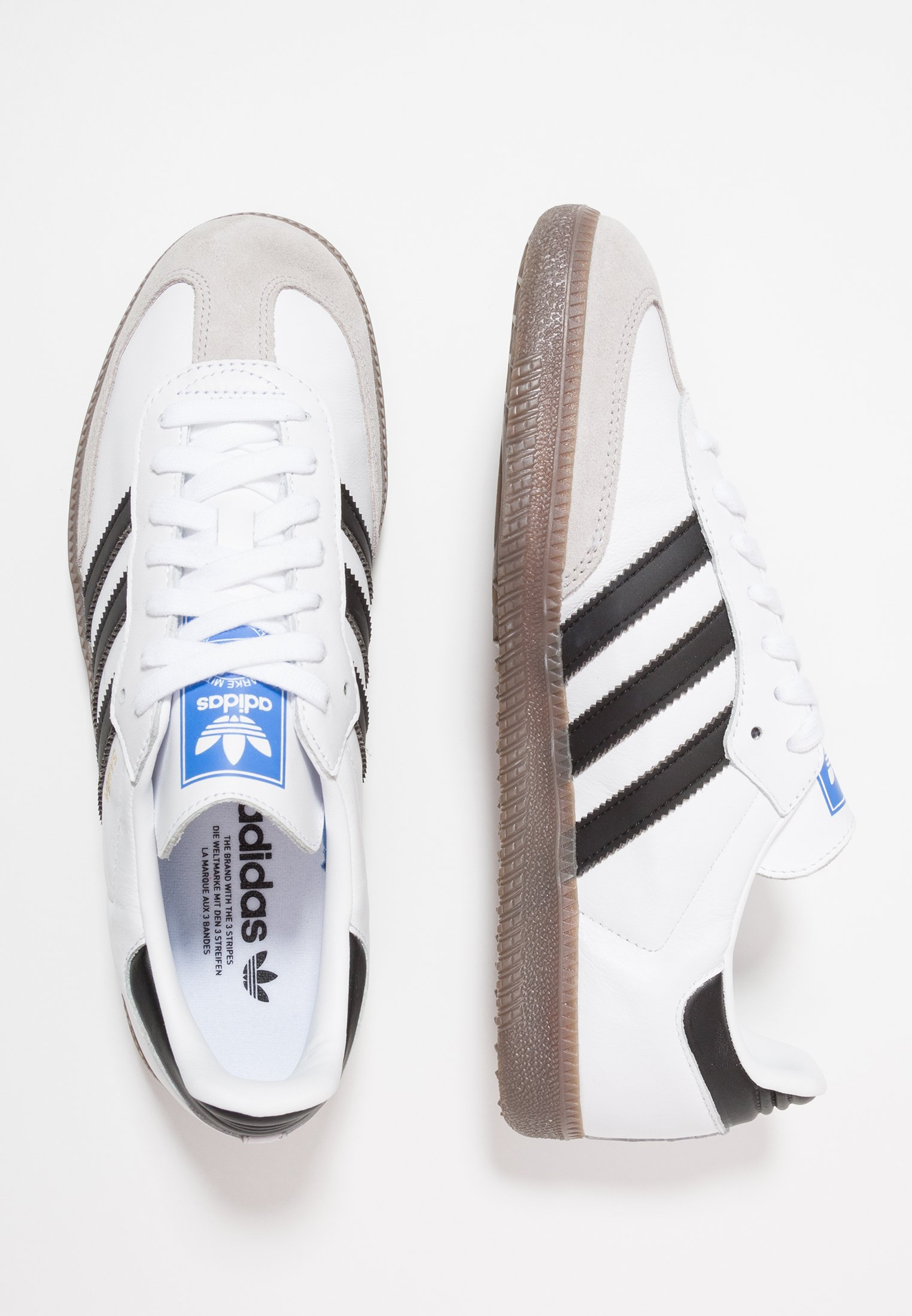 adidas Originals SAMBA - Zapatillas - footwear white/core ...