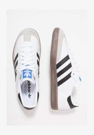 SAMBA - Sneaker low - footwear white/core black/granit