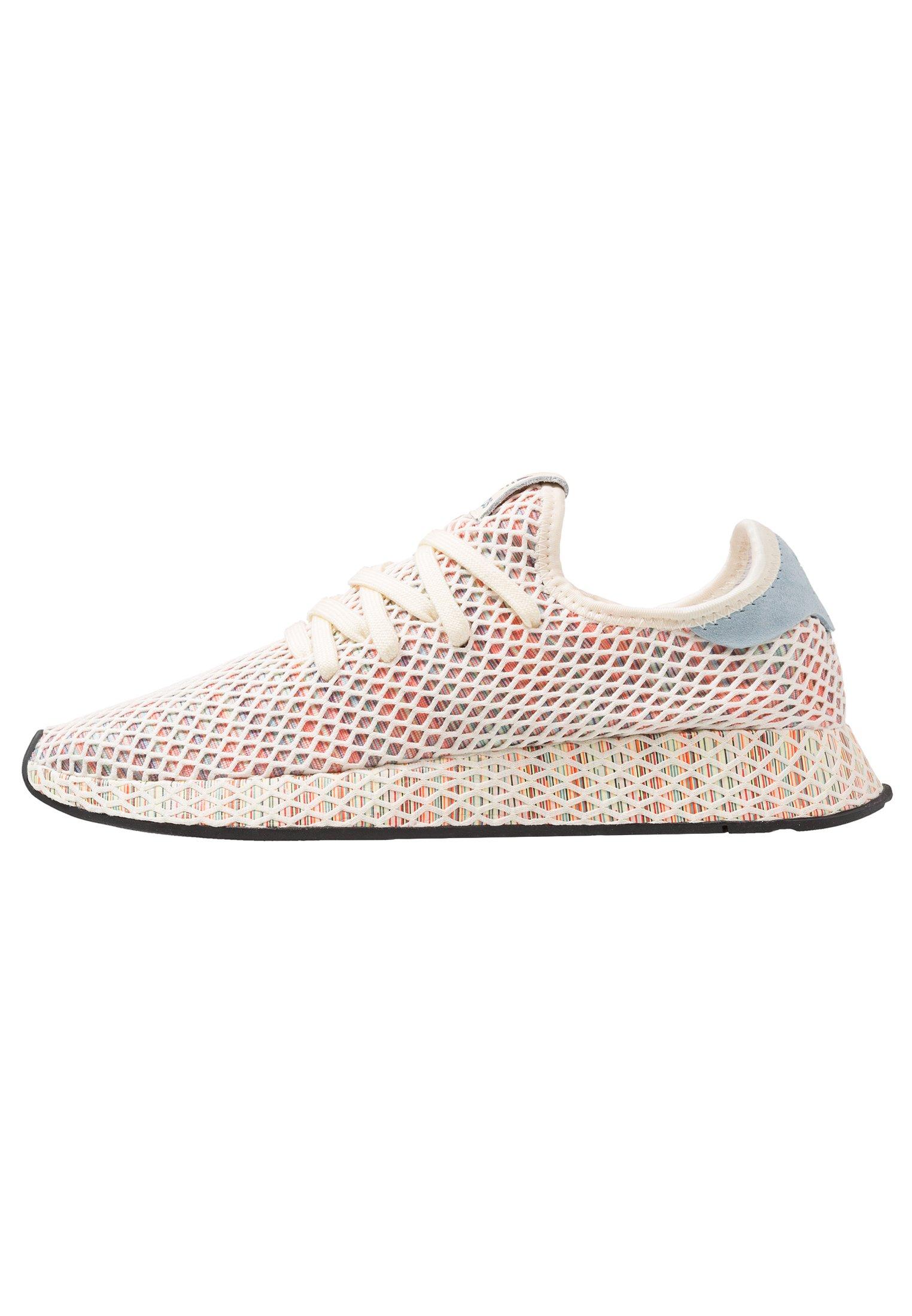 adidas Originals DEERUPT PRIDE - Sneaker low - cream white ...
