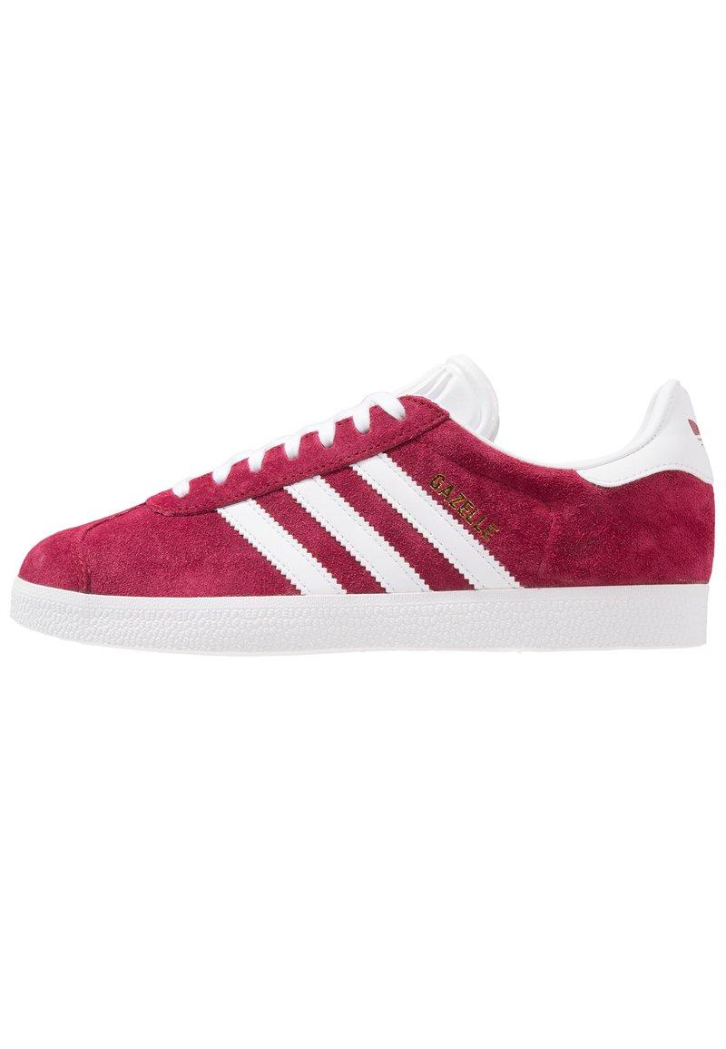 adidas Originals - GAZELLE - Sneaker low - cburgu/ftwwht/ftwwht