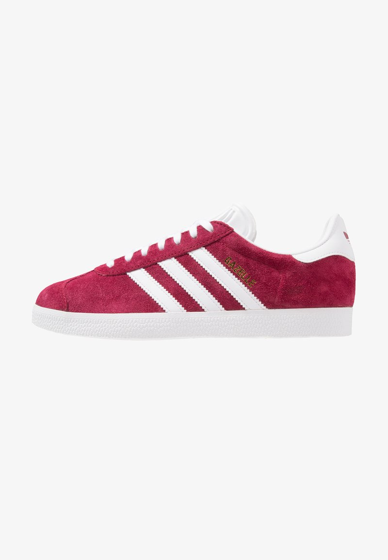 adidas Originals - GAZELLE - Sneaker low - collegiate burgundy/footwear white