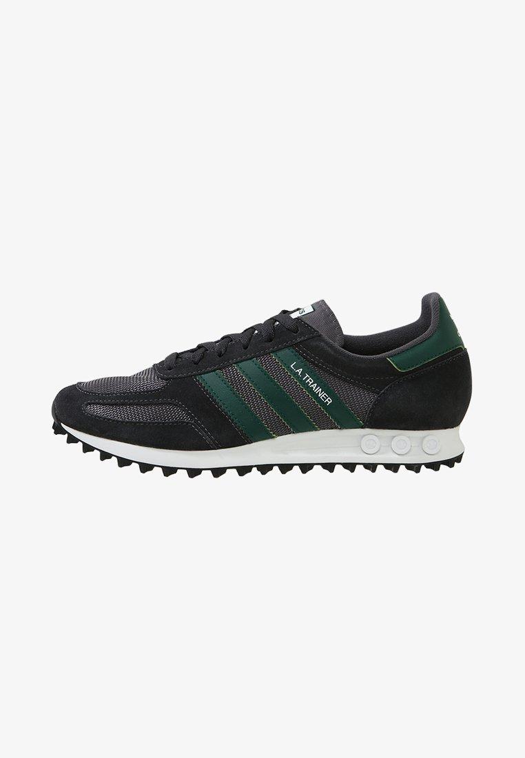 adidas Originals - LA TRAINER - Sneakers laag - carbon/green/grey five
