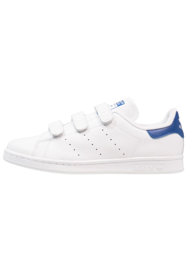STAN SMITH - Sneakers laag - ftwwht/ftwwht/croyal