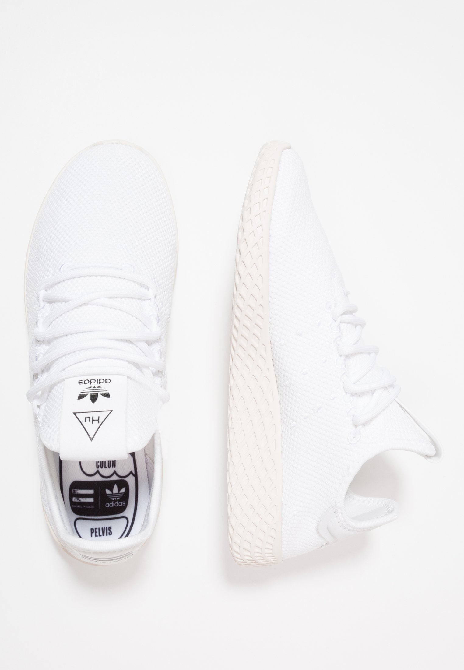 Adidas Originals Pw Tennis Hu - Sneakers Basse Footwear White/core White ovxwGoc