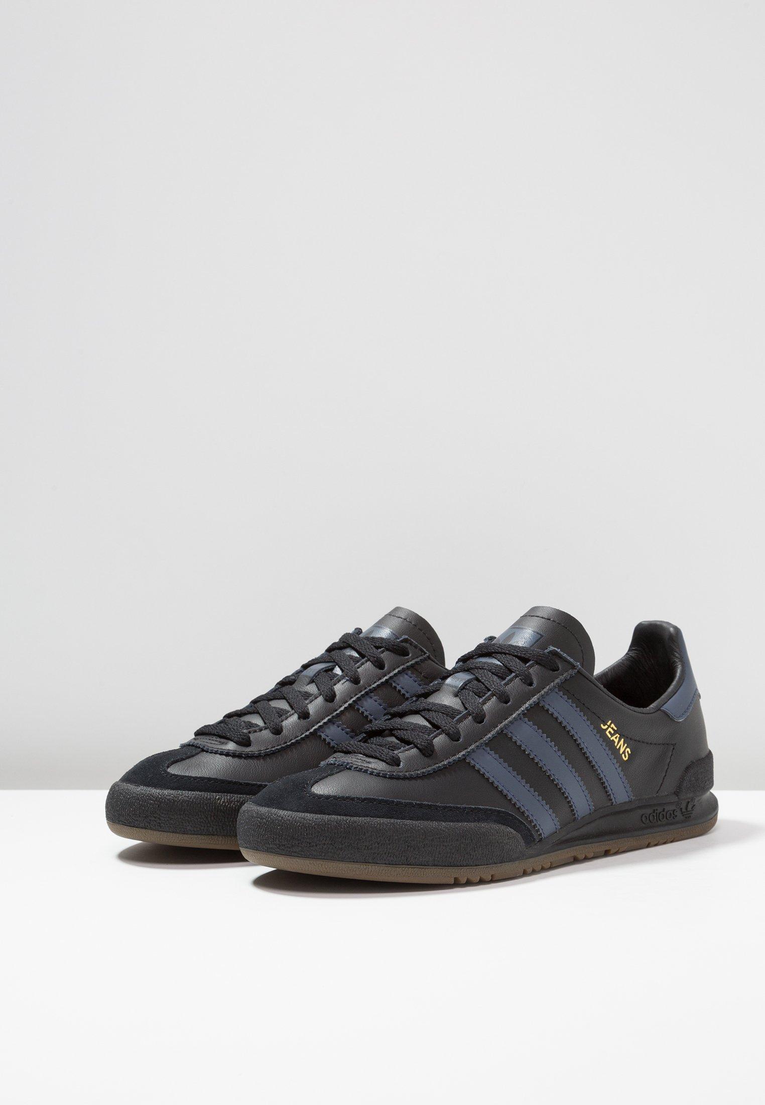 Basses trace JeansBaskets Adidas Black Blue Originals Core 4AR35jL