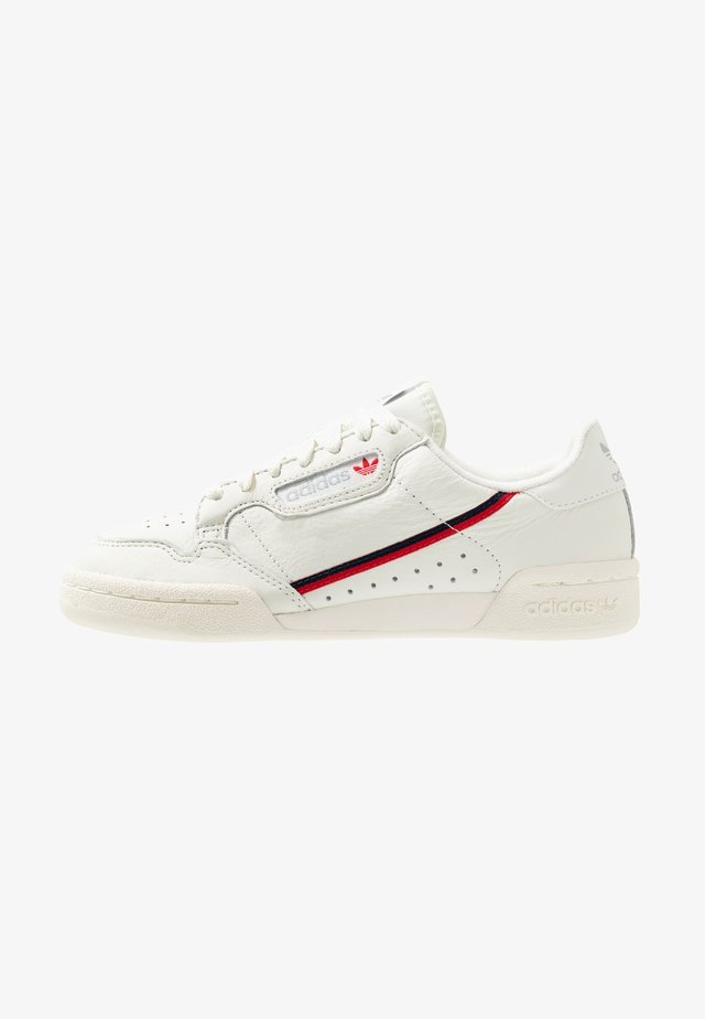 CONTINENTAL 80 - Sneakers laag - white tint/offwhite/scarlet