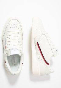 adidas Originals - CONTINENTAL 80 - Matalavartiset tennarit - white tint/offwhite/scarlet - 2