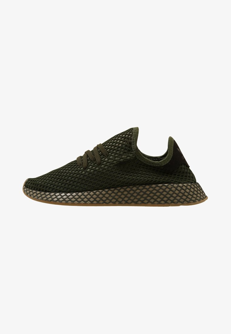 adidas Originals - DEERUPT RUNNER - Sneakers basse - basic green